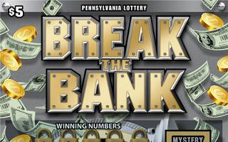 BREAK THE BANK from 5$ PA LOTTERY
