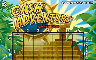 CASH ADVENTURE from 3$ PA LOTTERY