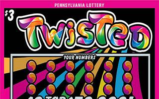 TWISTED from 3$ PA LOTTERY