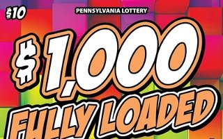 $1,000 FULLY LOADED from 10$ PA LOTTERY