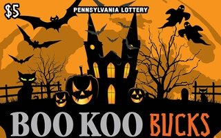 BOO KOO BUCKS from 5$ PA LOTTERY