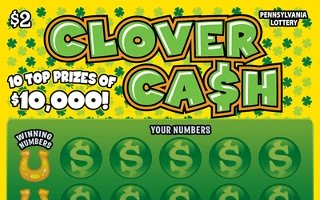 CLOVER CASH (Clover ca$h) - How to play (game rules) - Example of winning - Video