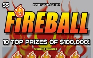 FIREBALL from 5$ PA LOTTERY