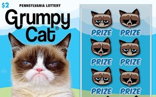 GRUMPY CAT® from 2$ PA LOTTERY