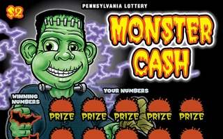 MONSTER CASH from 2$ PA LOTTERY