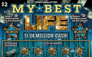 MY BEST LIFE from 2$ PA LOTTERY